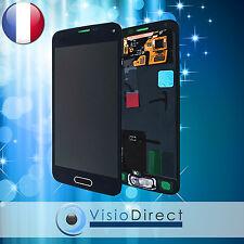 Ecran complet pour Samsung Galaxy S5 Mini SM-G800F noir vitre tactile +ecran LCD