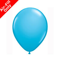 Qualatex Robin Egg Blue 5 inch Air Fill Latex Balloons Birthday Party Event