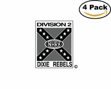 Division 2 Dixie Rebels 4 Stickers 4X4 inches Sticker Decal