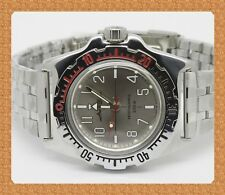 Diver watch 200 m. russian military VOSTOK AUTO AMPHIBIAN # 110649 NEW