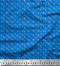 Soimoi Fabric Leaf Floral Printed Craft Fabric by the Meter - FL-826A