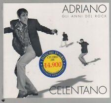 ADRIANO CELENTANO GLI ANNI DEL ROCK CD ORO FC.SIGILLATO!!!