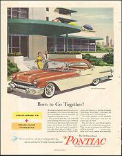 1956 Vintage ad for PONTIAC`Star Chief Four-door Catalina  Retro  (070917)