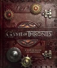 Game of Thrones: A Pop-up Guide to Westeros by Matthew Reinhart (Hardback, 2014)