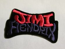 Jimi Hendrix Collectable Rare Vintage Patch Embroided 90'S Metal Live