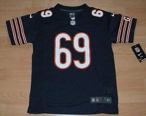 NIKE CHICAGO BEARS JARED ALLEN #69 HOME FOOTBALL JERSEY YOUTH MEDIUM