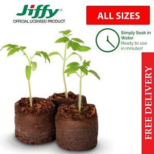 Jiffy 7 Peat Pellets Propagation Compost Plug Seed Cuttings Hydroponic Organic