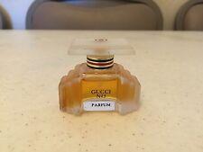 Rare  VINTAGE GUCCI No number 3 Pure Extrait PARFUM Splash 0.25oz 7.5ml 1/4oz