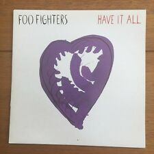 """Foo Fighters  - Have It All  7"""" Vinyl"""