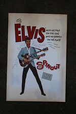 "Elvis  Poster Lobby Card ""Spin Out"""