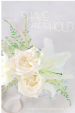 To Have and To Hold Wedding Bulletins - 100 sheets