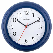 Acctim Bentima Blue Colour 22cm Wall Clock for Home and Office Use 21419