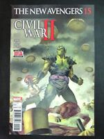 Marvel Comics: THE NEW AVENGERS #15 OCTOBER 2016 CW2 # 16A18