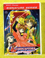 Cardcaptors Vol. 1: Tests of Courage ~ New DVD ~ Geneon Anime Show Sealed Video