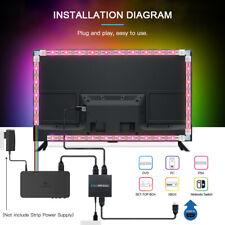 HDMI SYNC Box Kit 24V RGB LED TV Hintergrund-Beleuchtung Lichtstripe Farbwechsel