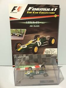 JIM CLARK Lotus 25 -1963 1:43 Scale PANINI Formula 1 Car collection #15