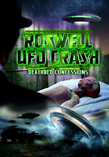 DVD:ROSWELL UFO CRASH DEATHBED CO - ROSWELL UFO CRASH DEATH - NEW Region 2 UK