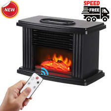 Mini Electric Home Warmer Heater Fireplace Heating Home With Remote Control