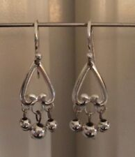 Silvertone Fashion Dangle Earrings from Macy's Hook Back