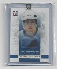 ALEXANDER OVECHKIN  JERSEY, PATCH CARD, AND ROOKIE PROSPECT CARD  LOT #2