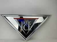Vintage Coors Triangle Arctic Ice Light Beer Sign Mirror 1995