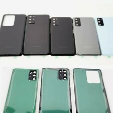 Samsung Galaxy S20 + S20 Ultra Back Glass Replacement Battery Back Door  Cover