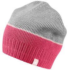 Adidas Climawarm Knit Kids Girls Beanie Winter Hat Cap DJ2269 Pink/Grey