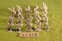 25mm orc warriors 20 metal irregular miniatures (41078)
