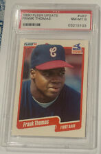 1990 Fleer Update Frank Thomas PSA 9