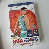 NBA Panini Hoops 20-21 Hobby Box. Factory Sealed Box. 2020-2021 Basketball