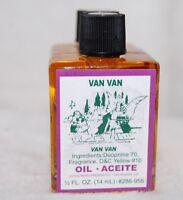 Van Van Magickal Oil (1) 4 DRM Bottle-  Ritual Magic Santeria, Hoodoo, Wicca