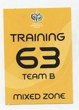 Orig.Ticket   WM Deutschland 2006  3.Platz  DEUTSCHLAND - PORTUGAL // Training B