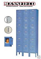 New Nexel Paramount Steel Locker Storage Gym School P6158KD 6 Tier, 3 Wide