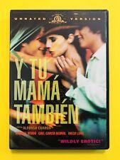 Y Tu Mama Tambien Espanol Spanish Gael Garcia Bernal Diego Luna Ws Dvd