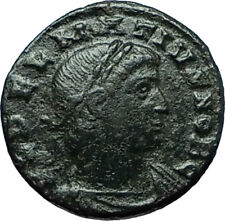 DELMATIUS 335AD Constantinople Authentic Ancient Roman Coin SOLDIERS i66361