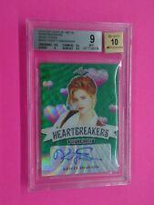 Kristy Swanson 2019 LEAF POP CENTURY HEARTBRAKERS AUTO 4/4 Card #H-KS1