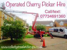 Tracked Access Platform Cherry Picker Hire