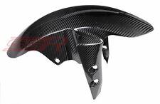 Yamaha R1 R6 FZ8 FZ1 Fazer Front Fender Mud Splash Guard 100% Twill Carbon Fiber