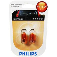 Philips Vision Premium 2 Stück WY5W 12V 5W gelb W2,1x9,5d Blinker Birne Lampe