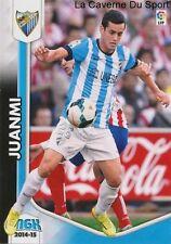 N°270 JUANMI # ESPANA MALAGA.CF RACING ATLETICO CARD PANINI MEGACRACKS LIGA 2015