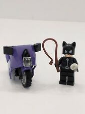 Lego Batman Catwoman MINIFIG Catcycle City Chase Batman Bike - Whip and Jewel