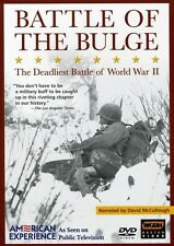 American Experience: The Battle of the Bulge (2004, REGION 1 DVD New)