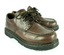 Cat Shoes Mens UK 10 Caterpillar Industrial Footwear Brown Low Wide Width