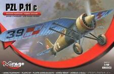 Pzl p 11 c-avec des bombes (polish af 1939 marquages) 1/48 mirage