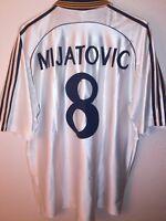 ADIDAS vtg Real Madrid 1998-1999 Mijatovic 8 soccer vintage camiseta shirt 90´s