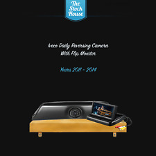 Iveco Daily Reversing Camera Brake Light & Flip Monitor 2011-2014 Parking Lines