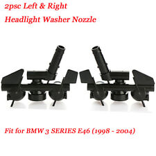 Headlight Washer Nozzles Jet Spray Left Right For BMW 3 SERIES E46 1998 - 2004