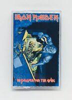No Prayer for the Dying Iron Maiden Cassette CBS 1990 ET 46905 USA