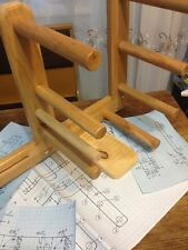 Vintage Inkle Loom Weaving Plans (INCHS) ONLY THE PLANS