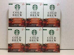 Starbucks Cold Brew Single-Serve Coffee Pods, Caramel Dolce, 36/Pods, 11/12/2020